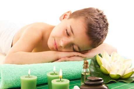 Children's posture correction massage